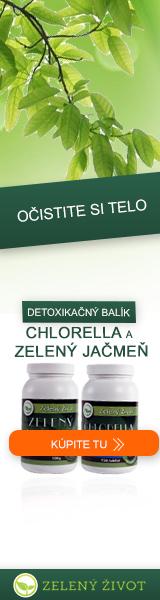 Zelený jačmeň - očistite si telo