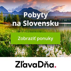 Zľavy na pobyty na Slovensku